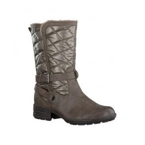 Womens Pepper Quilted Water Repellent Winter Boots 8-26403-21 324