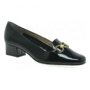 Womens Twilight Black Court Shoes