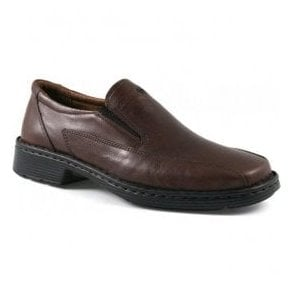 Mens Barker Brandy Leather Slip On Shoes 38012 23 300