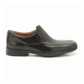 Mens Francis Flight Black Slip On Shoes