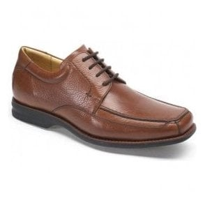Mens Goias Tan Leather Lace Up Shoes
