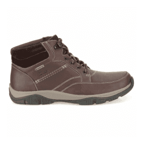 Mens Rampart Mid GTX Brown Waterproof Warm Lined Leather Boots
