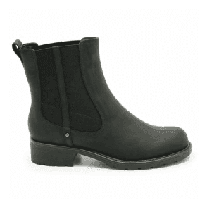 Womens Orinoco Club Black Leather Chelsea Boots