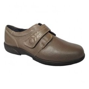 Womens Healey Seal Velcro Wide Fitting Shoes 79315S 4E