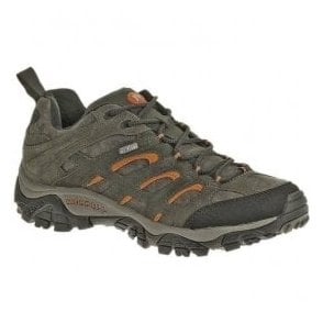 Mens Moab Waterproof Lace Up Trainers J553215
