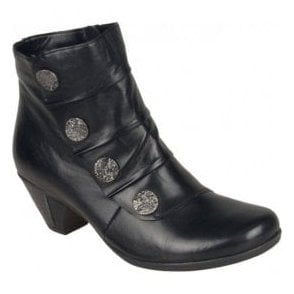 Womens Cristallin Graphite Ankle Boots D1293-45
