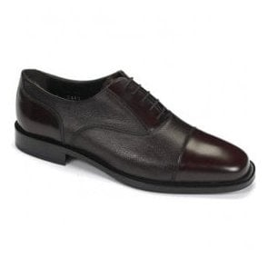 Mens Bibury Black Oxford Tie Shoes
