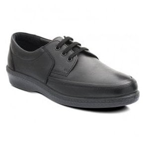 Mens Dash Black Lace Up Shoes