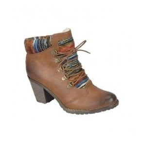 Eagle D-Ring Brown Ankle Boots 95323-22