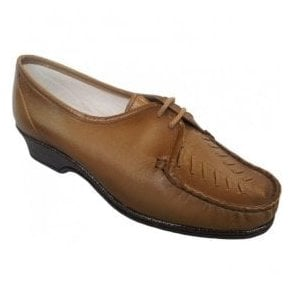Womens Ella Bracken Antique Lace Up Shoes