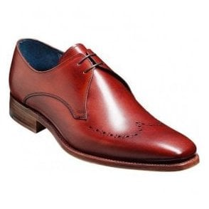 Mens Ewan Rosewood Calf Tie Shoes