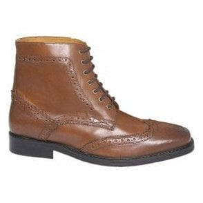 Mens Royal Landslide 2 Tan Brogue Boots