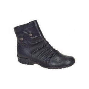 Minesota Black Waterproof Ankle Boots Z4652-00