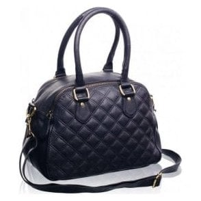 Womens Chalbury Black Leather Handbag