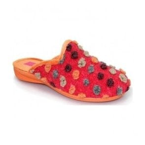 Womens Bubblegum Red Mule Slippers KLM001RD