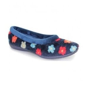 Womens Jasmine Blue Slippers KLM004BL