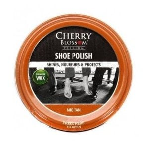Mid Tan Premium Paste Shoe Polish