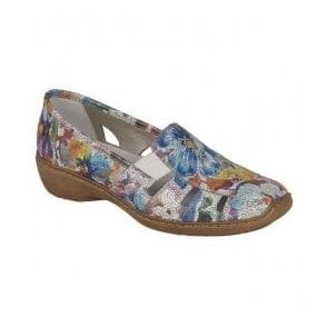Wisconsin Multi-Coloured Slip On Casual Shoes 41385-90