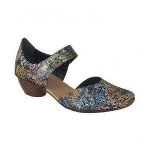 Womens Calabria Muli-Coloured Casual Mary Jane Shoes 43711-90