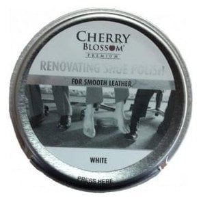 Premium White Renovating Shoe Polish