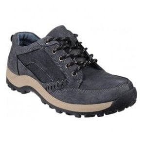 Mens Nailsworth Navy Lace Up Casual Shoes