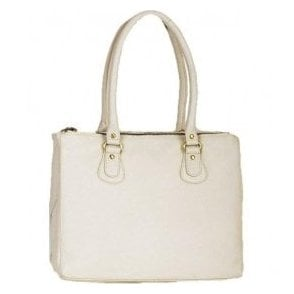 Womens Rowlands Beige Leather Handbag