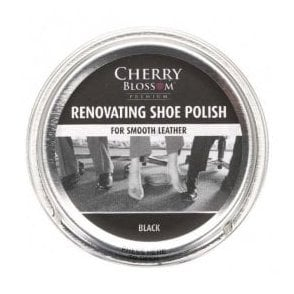 Premium Black Renovating Shoe Polish
