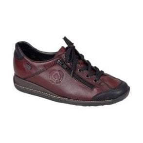 Mombasa Black/Red Casual Waterproof Shoes 44221-00