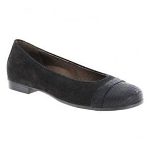 Womens Hamiki Black Slip On Shoes 328004 311 001