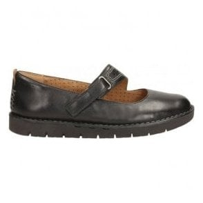 Womens Un Briarcrest Black Leather Mary Jane Shoes