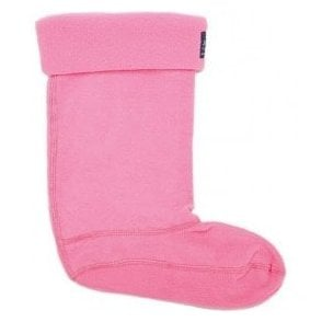 Junior Welton Pink Neon Candy Welly Socks