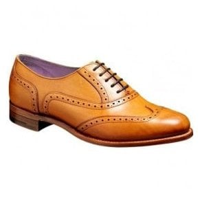 Womens Freya Cedar Brogue Lace Up Shoes