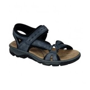 Chios Blue Strap Over Sandals 68879-14