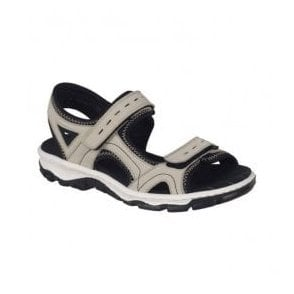 Buk Cream Strap Over Sandals 68866-61