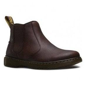 Mens Lyme Dark Brown Chelsea Ankle Boots 20832201