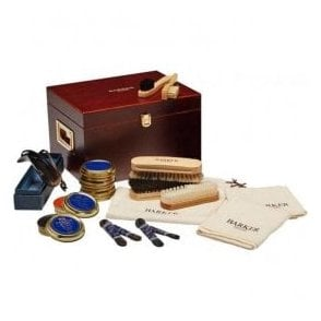 Wooden Valet Box - Care Kit