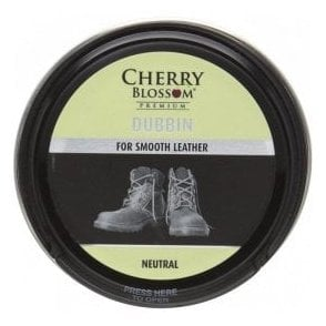 Premium Neutral Smooth Leather Dubbin