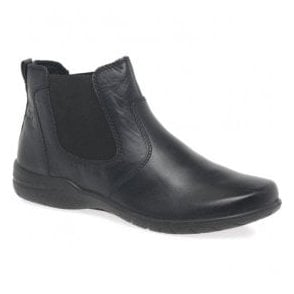 Womens Fabienne 47 Black Slip On Ankle Boots