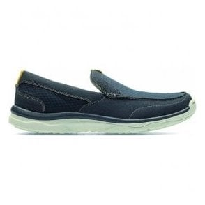 Mens Marus Step Navy Casual Slip On Driving Shoes