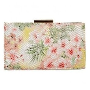 Womens Zinnia Tropical Floral Clutch Bag 2522040