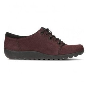 Womens Medora Bella Aubergine Nubuck Casual Shoes
