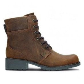 Womens Orinoco Spice Brown Snuff Ankle Boots