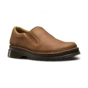 Mens Hickmire Tan Leather Slip On Shoes 21201220