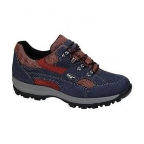 Womens Holly Waterproof Blue/Red Shoes 471240 532 217