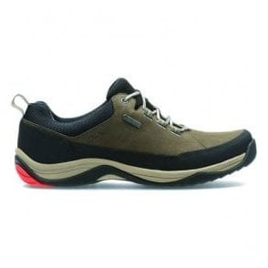 Mens BaystoneRun GTX Mushroom Nubuck Waterproof Lace Up Shoes