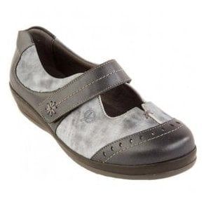 Womens Filton Navy/Mist Extra Wide Shoes