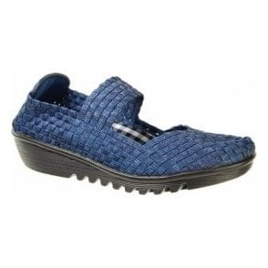 Womens May Ocean Slip On Mary Jane Shoes A3780