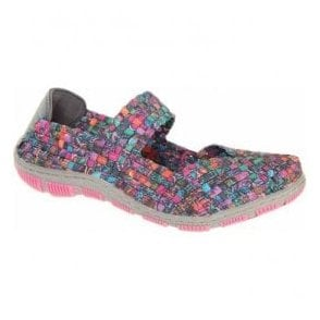 Womens Lottie Patchwork Mary Jane Shoes A3741