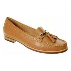 Womens Effie Camel Slip on Shoes