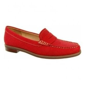Womens Bexley Pepper Suede Loafers V525